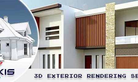 3D exterior rendering make a big impact on the business