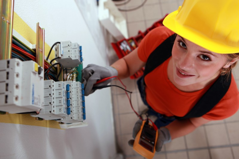 Female-Electrician