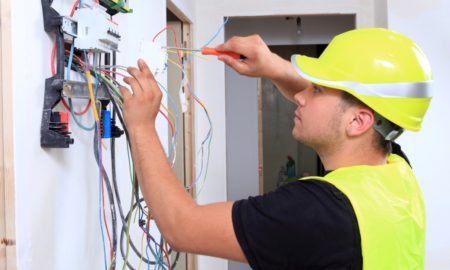 A Commercial Electrician